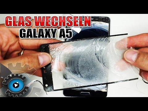 Samsung Galaxy A5 Glas Wechseln Tauschen unter 20€ reparieren [Deutsch/German]