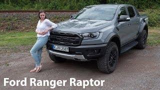 2019 Ford Ranger Raptor Fahrbericht / Arbeitstier und Abenteurer - Autophorie