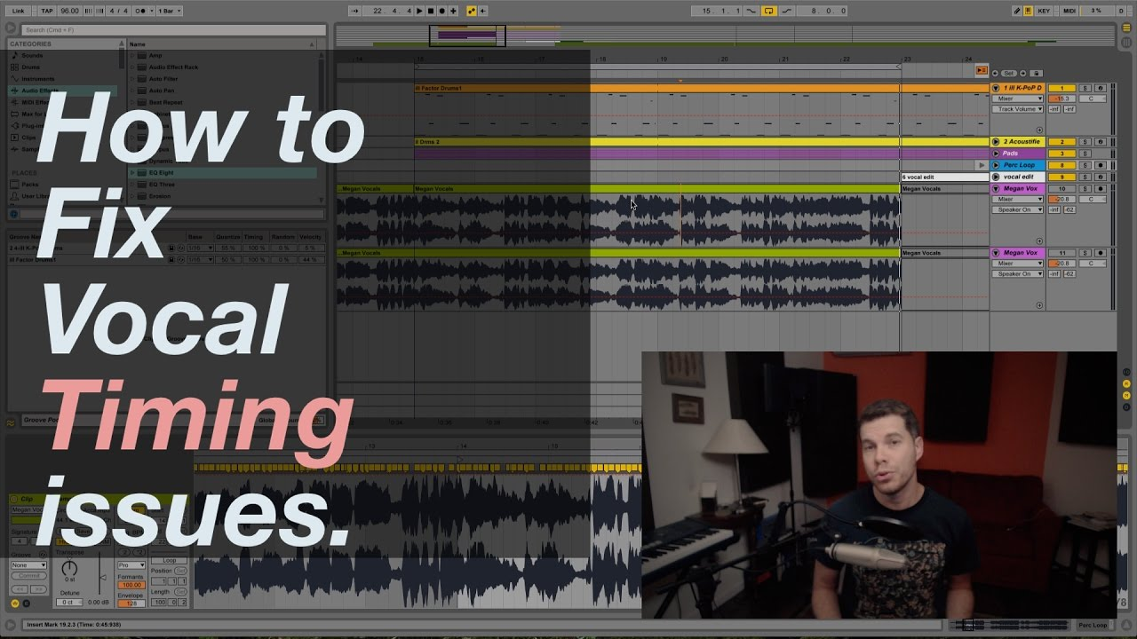 how to make a groove in ableton