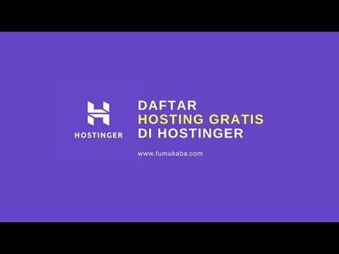 Daftar Hosting Gratis Di Hostinger Youtube