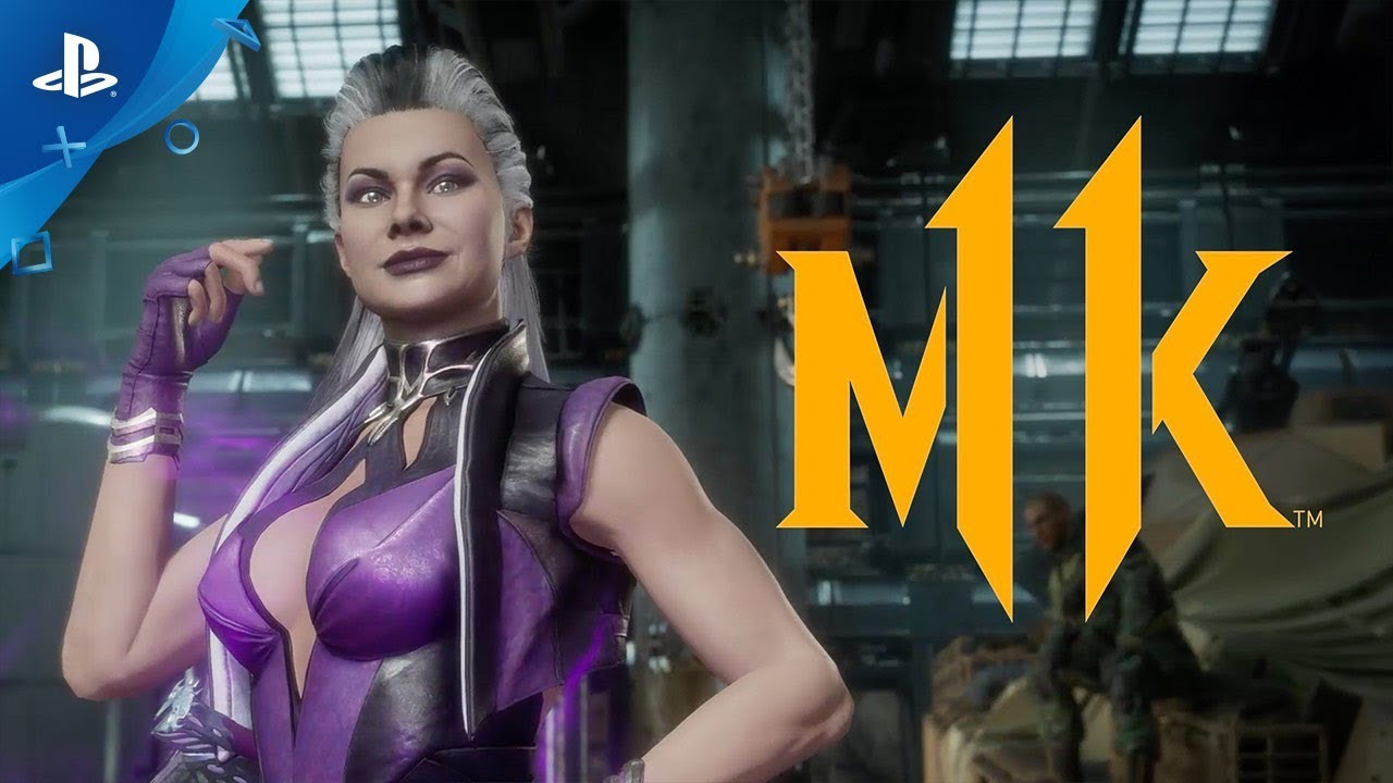 Sindel Gameplay Trailer