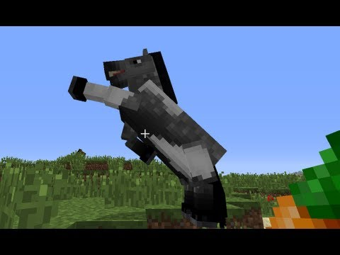 Minecraft How To Tame A Horse Minecraft Horse Youtube