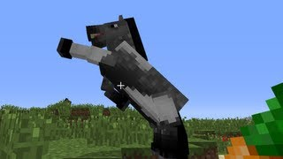 Minecraft: how to tame a horse - (minecraft horse)