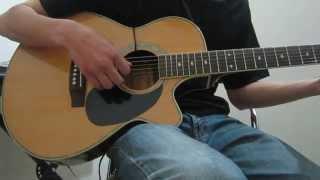 Mưa nhạt nhòa guitar