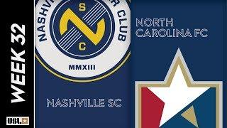 Nashville SC Vs. North Carolina FC October 12 2019