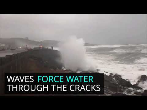 Spouting horns are a dramatic, fascinating feature of the Oregon coast