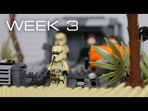 Building Scarif in LEGO - Week 3: The Beach & Water Design!