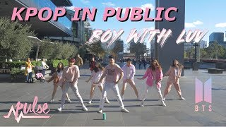 [KPOP IN PUBLIC] Boy With Luv -  BTS 방탄소년단 | Pulse Dance Crew Australia (Pink Version)