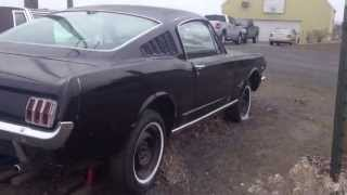 1965 Mustang Fastback Barn Find
