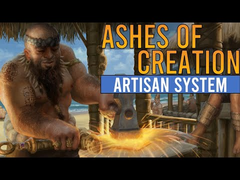 Ashes of Creation – Artisan System [Ashes 101]