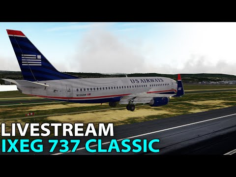 [Livestream] IXEG 737 Classic on PilotEdge ✈️ 2016-08-19