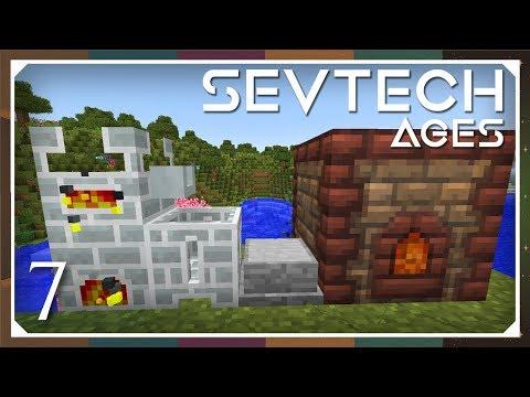 Sevtech: Ages | Copper & Kiln! | E07 (SevTech Ages Modpack)
