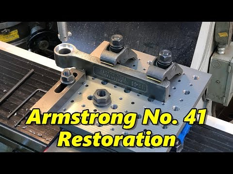 SNS 274 Part 1: Armstrong Tool Holder Modification and Restoration