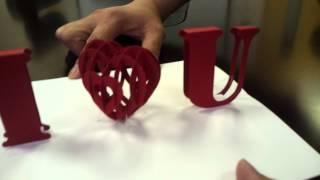 3D I Love You Pop-up Card