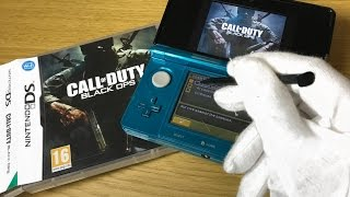 BLACK OPS ZOMBIES ON DS... Call of Duty BO1 Nintendo DS Gameplay