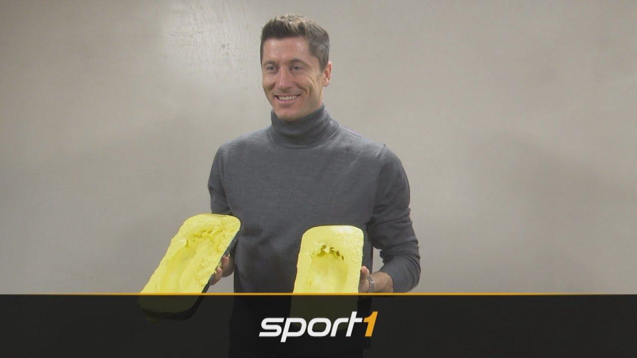 "Robert Lewandowski wird Teil des ""DFB-Pokal Walk of Fame"" | SPORT1"