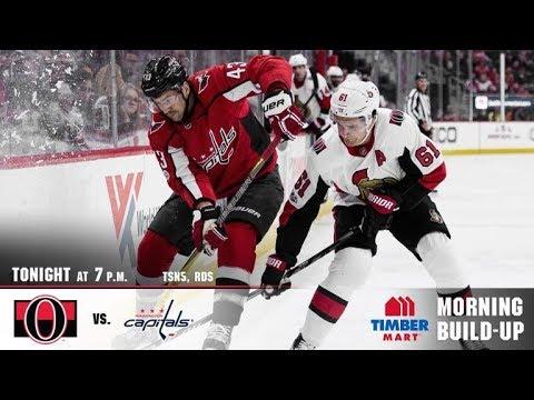 NHL 18 PS4. REGULAR SEASON 2017-2018: Ottawa SENATORS VS Washington CAPITALS. 02.27.2018. (NBCSN) !
