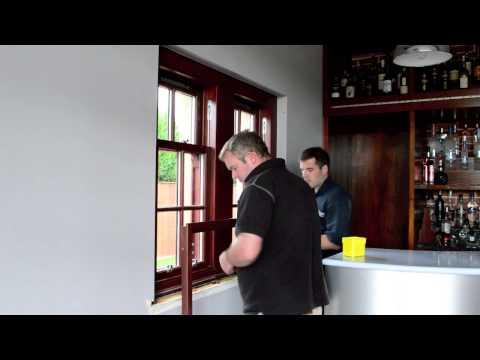 Bespoke Wooden Shutter Installation by Acorn Shutters & Blinds