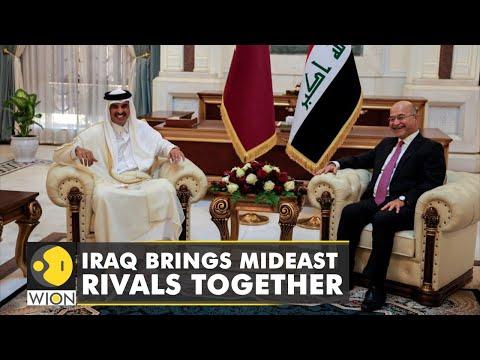 Iranian, Gulf Arab officials meet in Baghdad   Iraq seeks to mediate between Arab countries & Iran