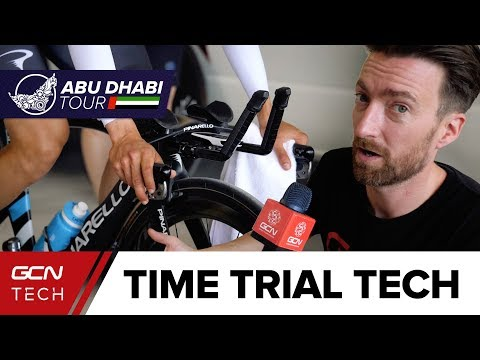 Pro Cycling Time Trial Tech | Abu Dhabi Tour 2018