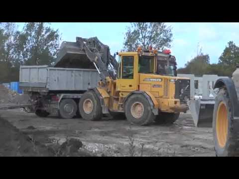 Huddig 1260B Cable plowing Sweden