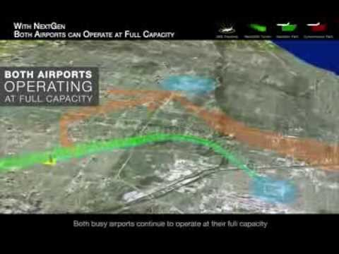 Deconflicting Flight Paths with NextGen Procedures