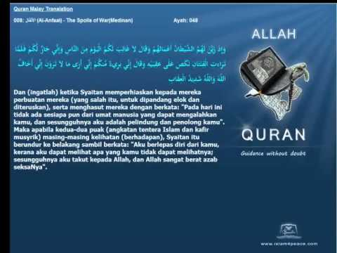 Quran Malay Translation 008 الأنفال Al Anfaal The Spoils of WarMedinan Islam4Peace com