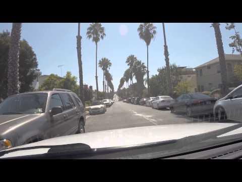 Driving in Santa Monica California HD 2014