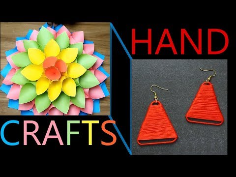 hand-crafts-work-at-home-with-paper