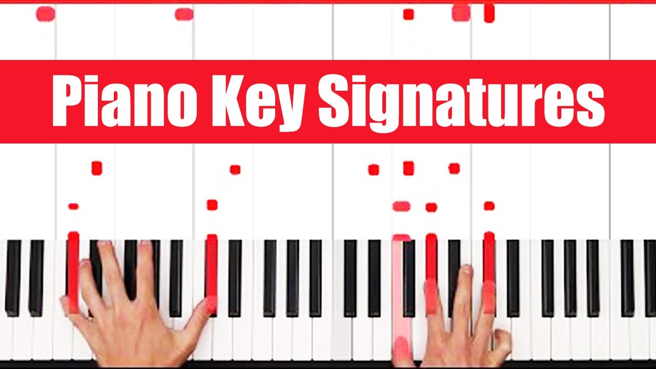 What Are Piano Key Signatures? - PGN Piano - YouTube