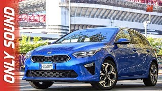 NEW KIA CEED 2019 - MILANO STADIO SAN SIRO - FIRST TEST DRIVE ONLY SOUND