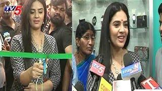Anchor Srimukhi Launches Kanva Mart In Warangal | Telangana | TV5 News