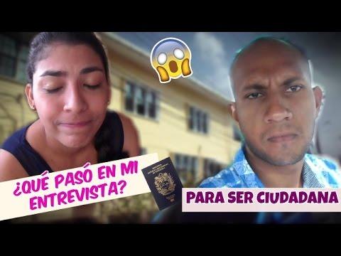Fui a mi entrevista para mi ciudadanía y ESTO PASO/VENEZOLANA EN GUYANA❤️
