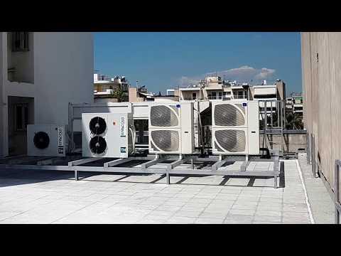 Rooftop Noise Barrier Installation (Noisy HVAC)