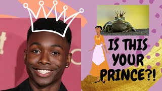 Disney's First Black Prince! Who Is Niles Fitch?