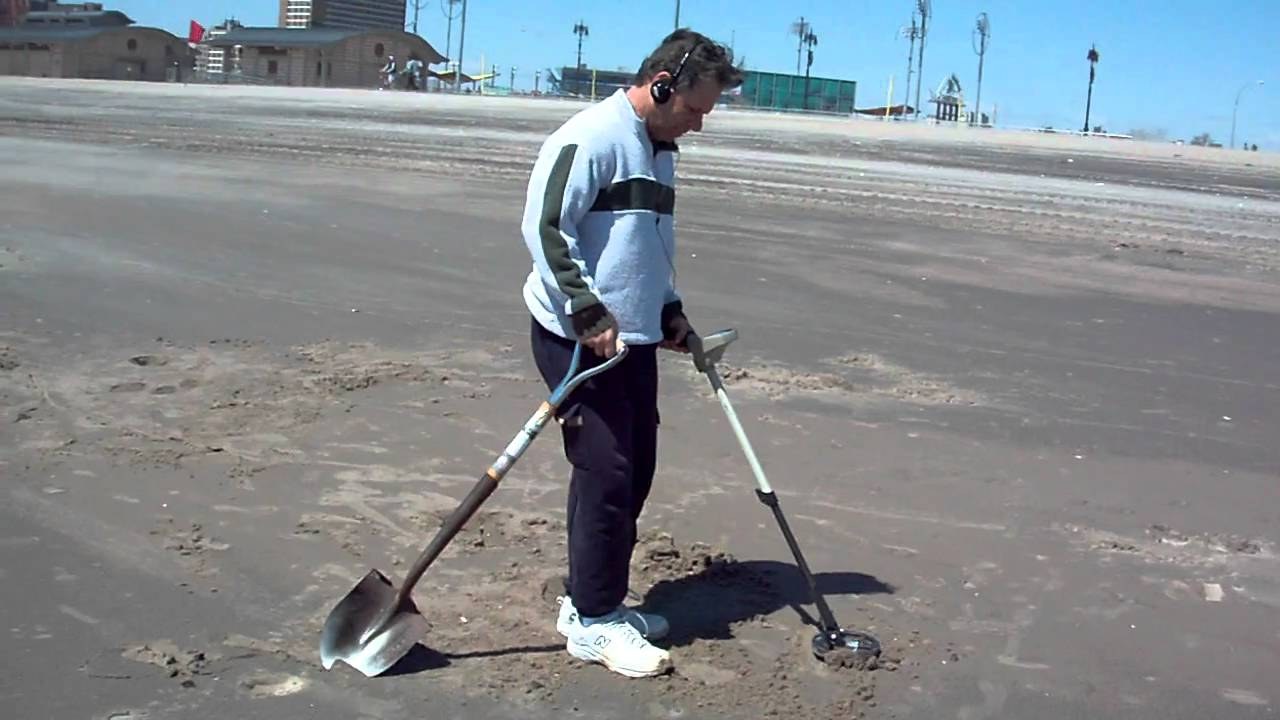 Jew Detector: Beach Metal Detecting