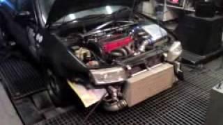 Evo 5 Twincharger dyno run