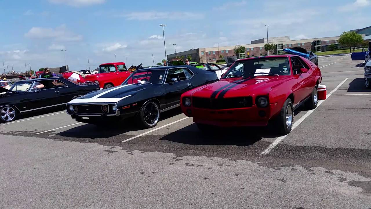 HIGHSCHOOL CARSHOW! CHALLENGERS! MUSCLE CARS! AMERICAN MUSCLE! OLD ...