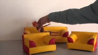 Комплект мягкой мебели  Алина 3(, 2015-04-30T09:20:24.000Z)