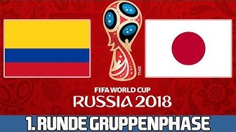 KOLUMBIEN : JAPAN | 1. Runde Gruppenphase | FIFA WM 2018 Prognose