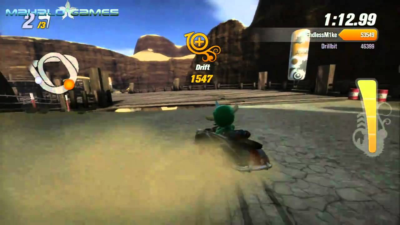savedata de modnation racers psp al 100