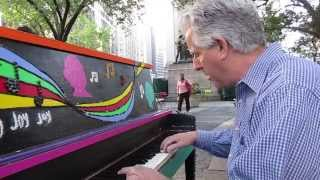 All My Life  - Steve Vitoff - Cover - Linda Ronstadt/Aaron Neville - Sing for Hope foundation pianos