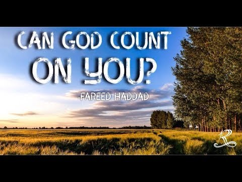 Can God Count On You?