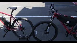 SHOOT OUT #1  Haro Hub Motor vs. Explorer Mid Drive Electric Bikes
