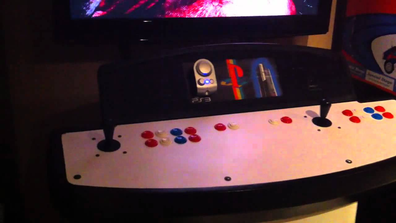 Custom Arcade Pedestal Cabinet plays PS3, PS2, Xbox360 Xbox with ...