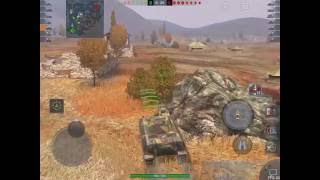 WoT Blitz Game Play - VK 28.01 and MT-25 Platoon
