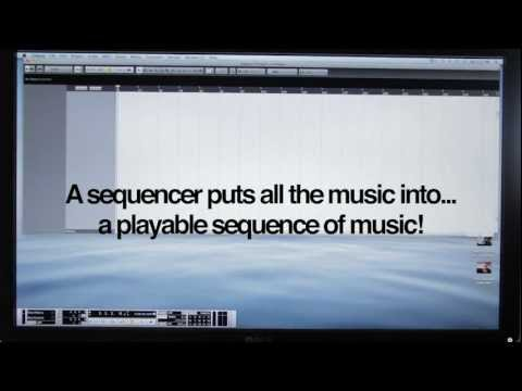 Computer Music for Beginners: What is a Sequencer? CubaseLogicAbletonetc