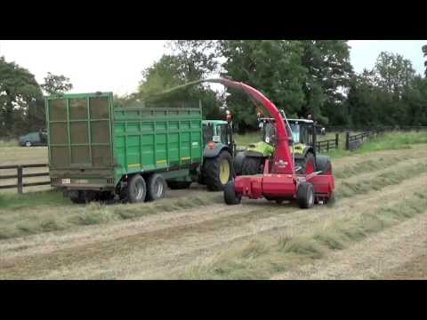 James Wallace Agri @ The Silage With a Claas Arion 650 & JF 1050