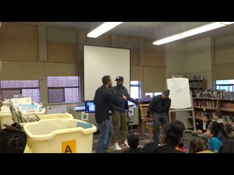 Talib Kweli & Immortal Technique Visit Woodlawn School