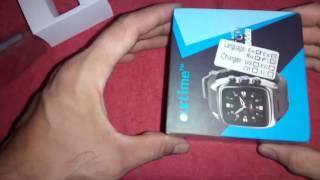 Unboxing smart  watch ourtime X01 português Brasil